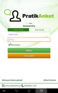 PratikAnket Anket Sistemi apk screenshot