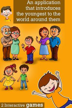 Montessori Family and Feelings poster