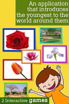 Montessori Flowers and Seasons poster