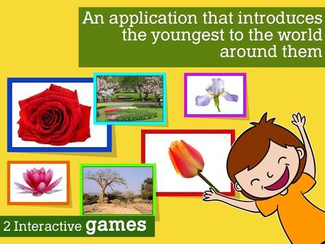 Montessori Flowers and Seasons apk screenshot
