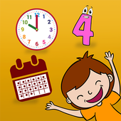 Learn Numbers Time Days Months icon