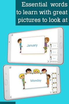 Learn Numbers Time Days Months apk screenshot