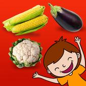 Montessori vegetables icon