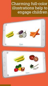 Montessori vegetables apk screenshot
