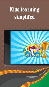 Alphabet car game for kids apk screenshot