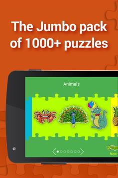 Jigsaw for kids, 1000+ puzzles poster