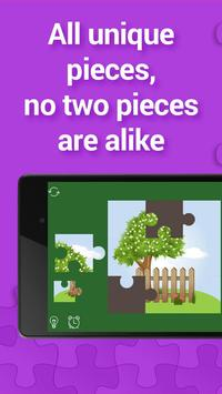 Jigsaw for kids, 1000+ puzzles apk screenshot