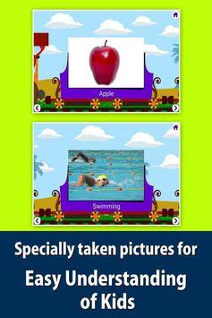 Kids picture dictionary, words apk screenshot