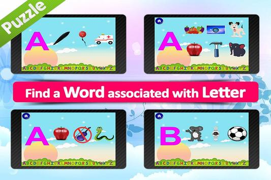 Animated alphabet for kids,ABC apk screenshot
