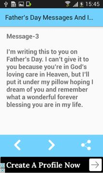 Father's Day Messages And Images For Greetings screenshot 4