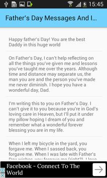 Father's Day Messages And Images For Greetings screenshot 3