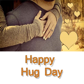 Happy Hug Day Messages,Images icon