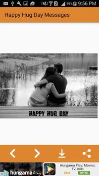 Happy Hug Day Messages,Images apk screenshot
