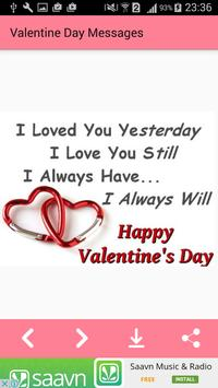 Valentine day Messages,Images screenshot 1