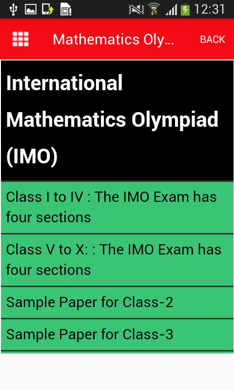 Olympiad Maths Past Papers
