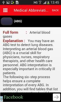 Medical Abbreviation Hand Book apk screenshot