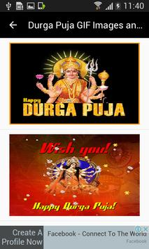 Durga Puja GIF Images and Messages poster