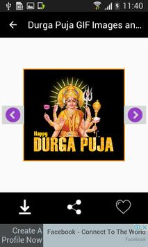 Durga Puja GIF Images and Messages screenshot 10
