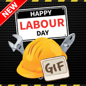 Labor Day GIF Images and New Messages List icon