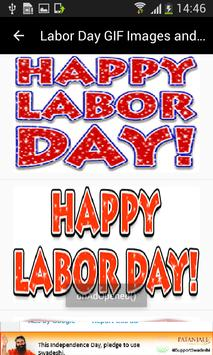 Labor Day GIF Images and New Messages List poster