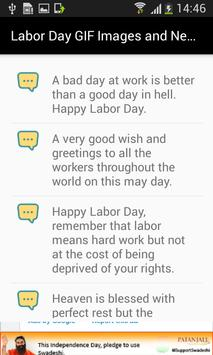 Labor Day GIF Images and New Messages List screenshot 2