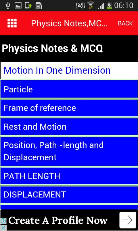 Physics notes,mcq and concepts apk download free books.