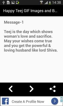 Happy Teej GIF Images and Best Messages List screenshot 3