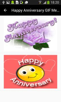 Happy Anniversary GIF Messages screenshot 6