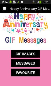 Happy Anniversary GIF Messages poster