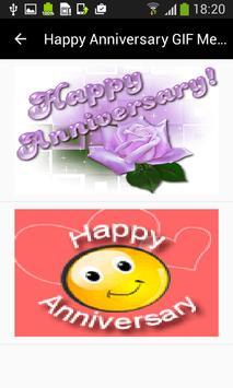 Happy Anniversary GIF Messages screenshot 1