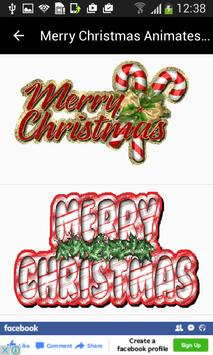 Christmas Wishes GIF Messages screenshot 1