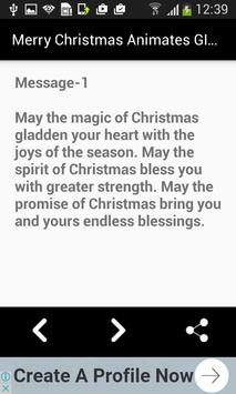 Christmas Wishes GIF Messages screenshot 9