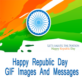 Republic Day GIF Messages Wish icon