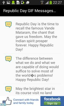 Republic Day GIF Messages Wish apk screenshot