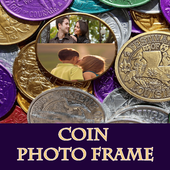 Coin Photo Collage Free Frames icon