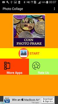 Coin Photo Collage Free Frames apk screenshot