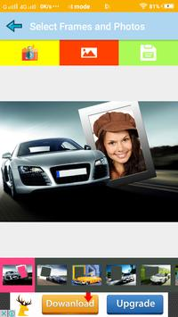 Latest Car Photo Frame To Impress and Stylish Look screenshot 1