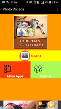 Christian Photo Collage Frames poster