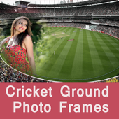 Latest Cricket Ground Photo Frames For Sport Feel icon