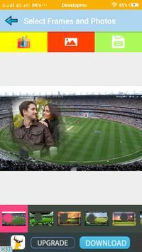 Latest Cricket Ground Photo Frames For Sport Feel screenshot 1