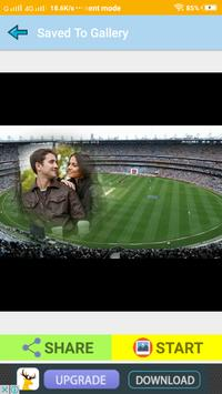 Latest Cricket Ground Photo Frames For Sport Feel screenshot 2