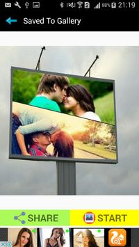 Billboard Photo Collage Frames screenshot 8