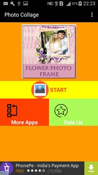 Flower Photo Collage New Frame screenshot 6