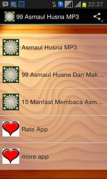 99 Asmaul Husna MP3 poster