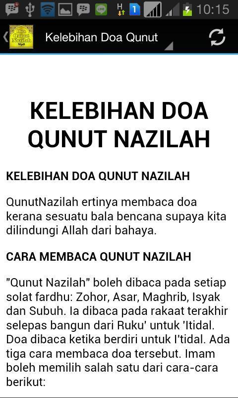 Doa Qunut Nazilah Mp3 For Android Apk Download