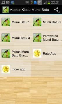Master Kicau Murai Batu poster