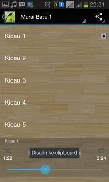 Master Kicau Murai Batu screenshot 1