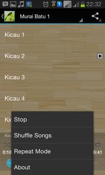 Master Kicau Murai Batu screenshot 3