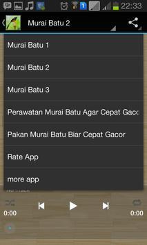 Master Kicau Murai Batu screenshot 5