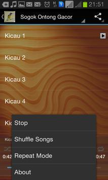 Master Kicau Sogok Ontong screenshot 3